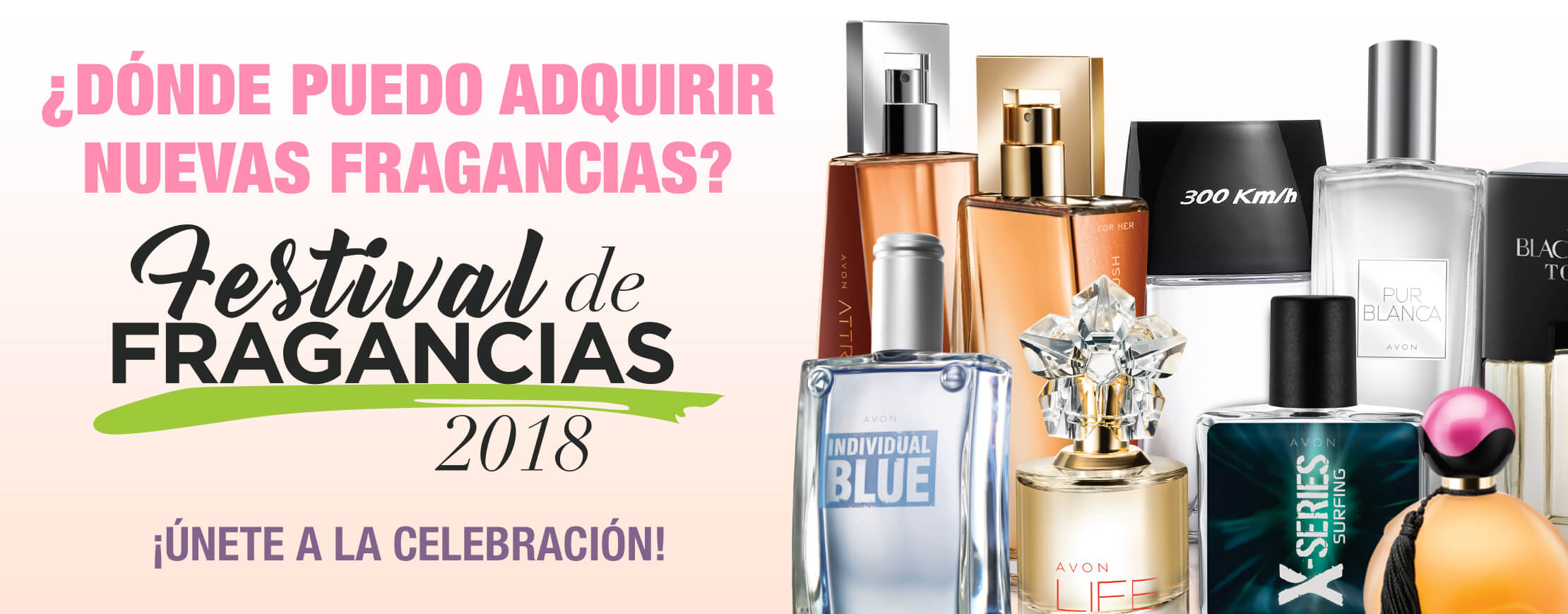 Fragancias Avon 2018